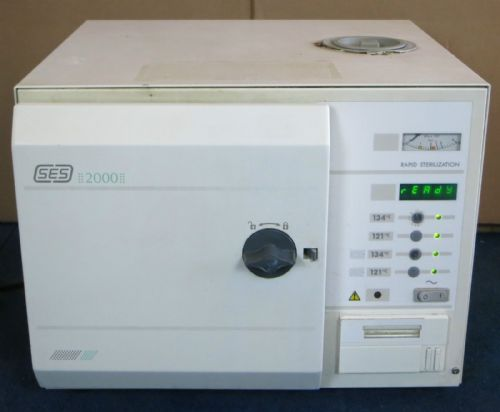 ESCHMANN SES 2000 Medical Equip Rapid Sterilization Tabletop Autoclave  Dental